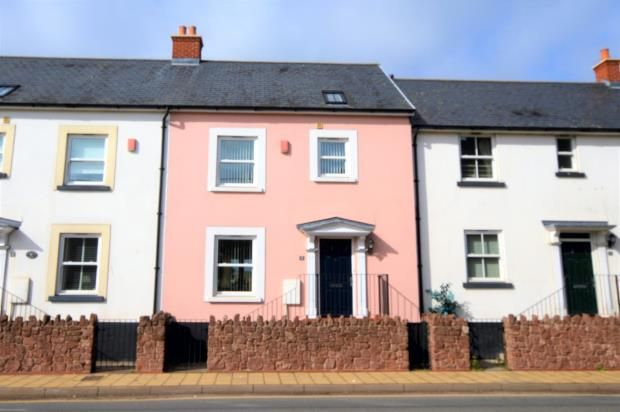 Thumbnail Terraced house for sale in Oystercatcher Court, Bridge Road, Shaldon, Devon