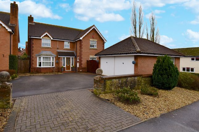 Thumbnail Detached house for sale in St Quintin Park, Bathpool, Taunton