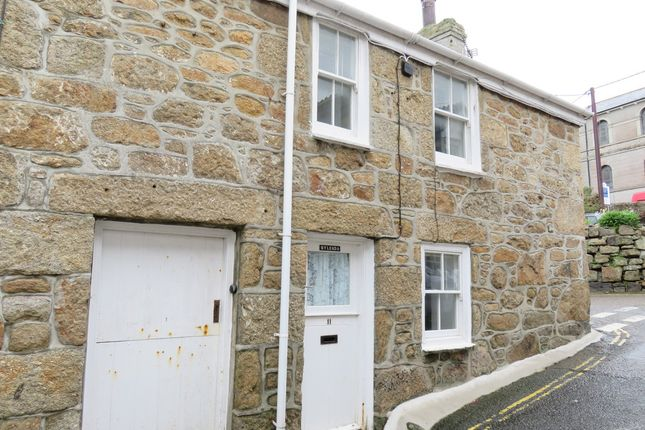 Thumbnail Terraced house to rent in Portland Place, Mousehole, Penzance