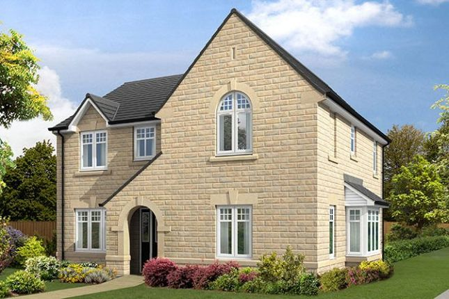 "Thumbnail 4 bed detached house for sale in ""The Salcombe V1"" at Roes Lane, Crich, Matlock"