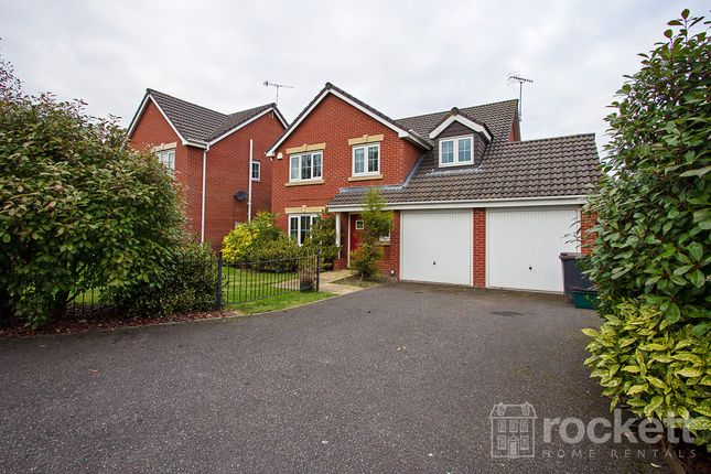Thumbnail Detached house to rent in Galingale View, Newcastle-Under-Lyme