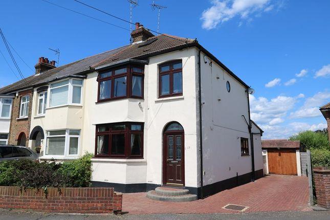 Thumbnail End terrace house for sale in London Road, Benfleet