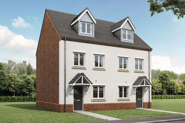 """Thumbnail Semi-detached house for sale in """"The Wyatt"""" at Gallows Hill, Warwick"""