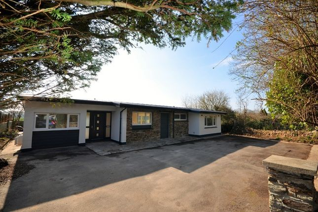 Thumbnail Detached bungalow for sale in Alexandra Road, Illogan, Redruth