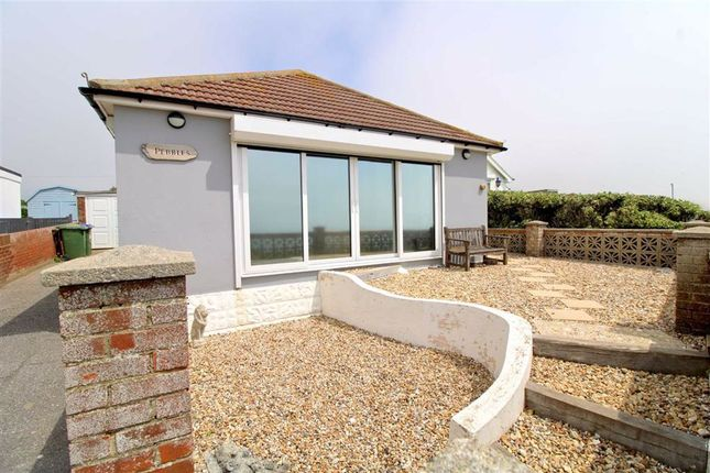 Thumbnail Detached bungalow for sale in The Promenade, Peacehaven, East Sussex