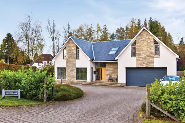 Thumbnail Detached house for sale in Moor Road, Strathblane, Stirlingshire