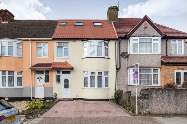 Thumbnail End terrace house for sale in Woodstock Road, Wembley