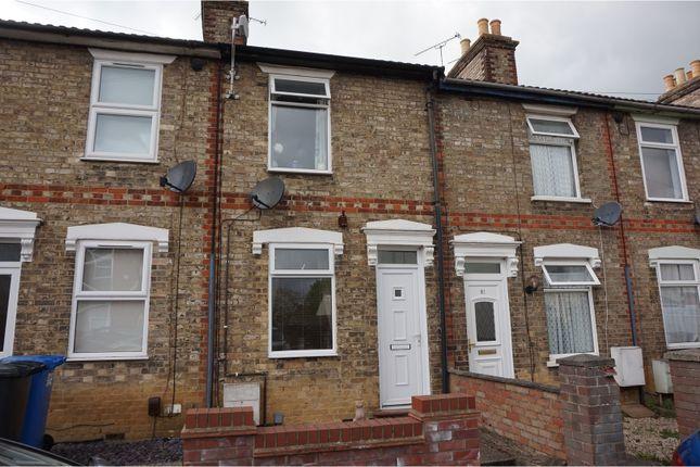 Thumbnail Terraced house for sale in Waveney Road, Ipswich