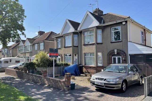 Thumbnail Semi-detached house to rent in Dunkeld Avenue, Filton Park, Bristol