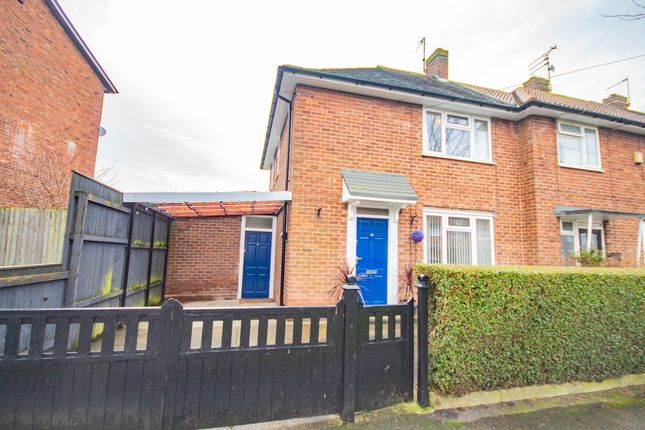 Thumbnail End terrace house to rent in Triton Road, Hull
