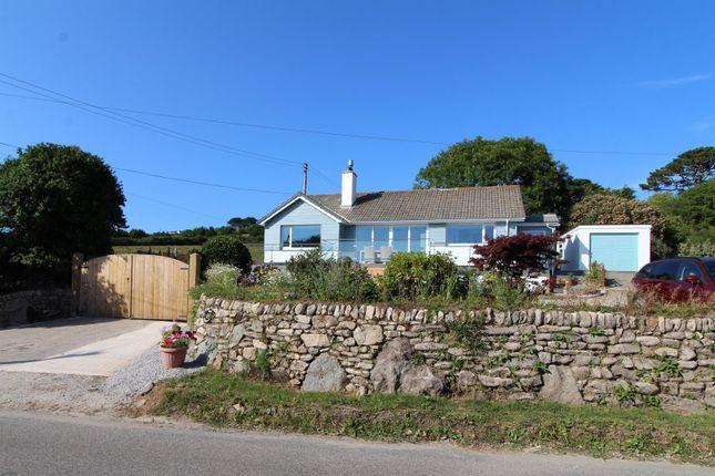 Thumbnail Detached bungalow for sale in Tresowes Hill, Ashton, Helston