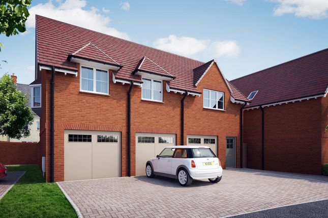 "Thumbnail Flat for sale in ""The Coach House"" at William Morris Way, Tadpole Garden Village, Swindon"