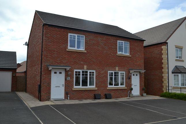 2 bed semi-detached house for sale in Tye Road, Fradley, Lichfield WS13
