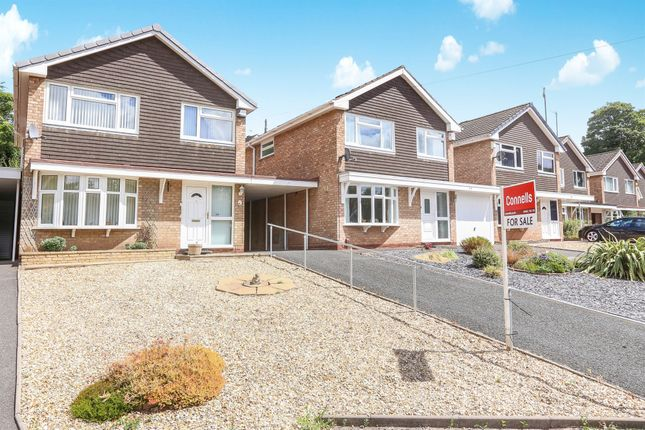 Thumbnail Link-detached house for sale in Alpine Way, Compton, Wolverhampton