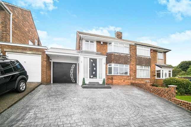 Thumbnail Semi-detached house for sale in Thornton Crescent, Blaydon-On-Tyne