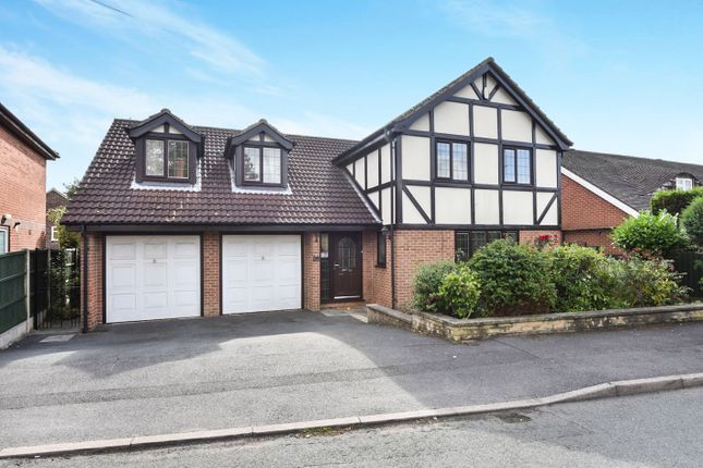 Thumbnail Detached house for sale in Arlington Road, Littleover, Derby