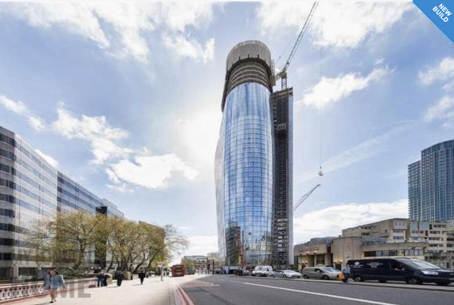 Thumbnail Flat for sale in One Blackfriars, One Blackfriars Road, London
