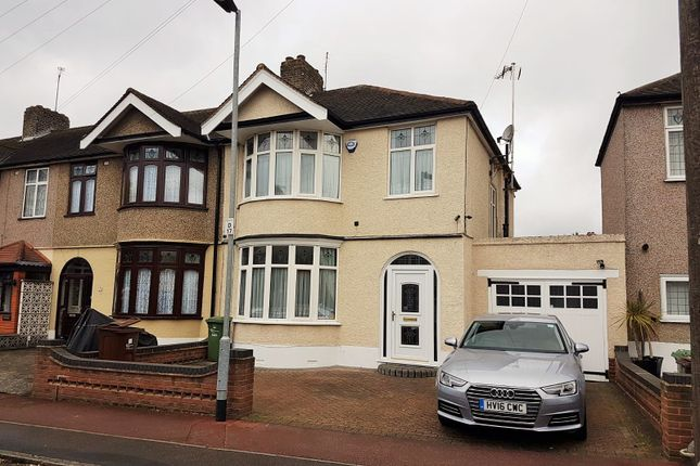 Thumbnail End terrace house to rent in Dereham Road, Barking, Upney