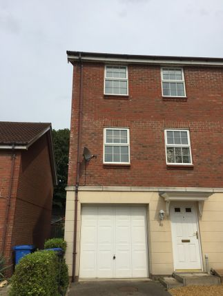 Thumbnail Town house to rent in Fletcher Way, Weston Road, Norwich