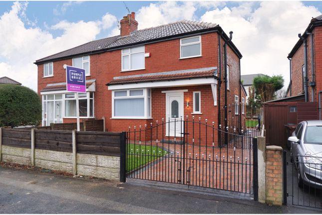 Thumbnail Semi-detached house for sale in Ashdale Crescent, Droylsden