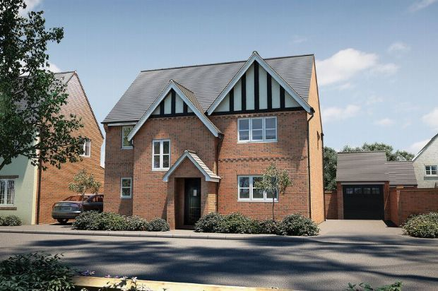 Thumbnail Detached house for sale in Brampton Lane, Buckton Fields, Northampton