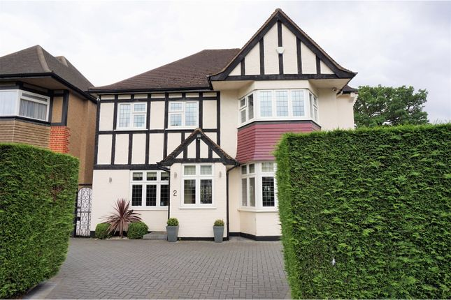 Thumbnail Detached house for sale in Hazel Gardens, Edgware