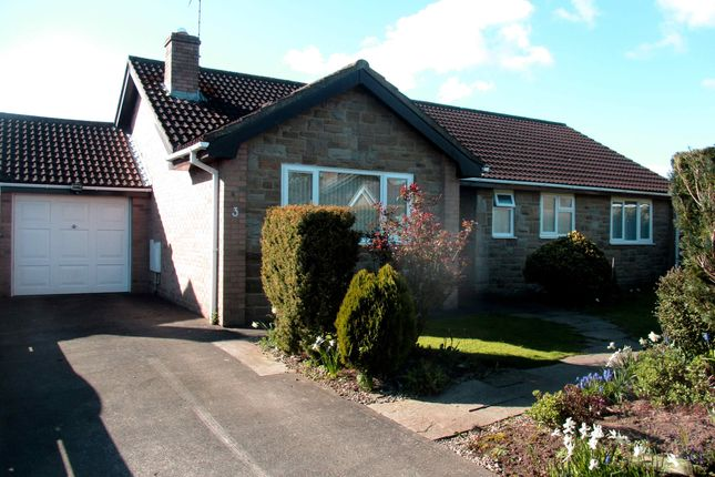 Thumbnail Detached bungalow for sale in East Grange Close, Scruton, Northallerton