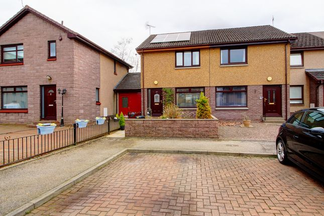 Thumbnail End terrace house for sale in Hutcheon Low Drive, Aberdeen