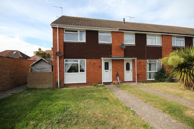 Thumbnail End terrace house to rent in Lenhurst Way, Tarring