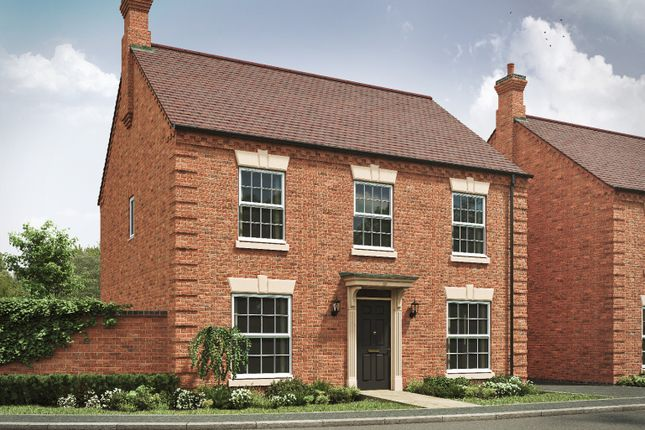 4 bed detached house for sale in Leicester Road, Market Harborough LE16