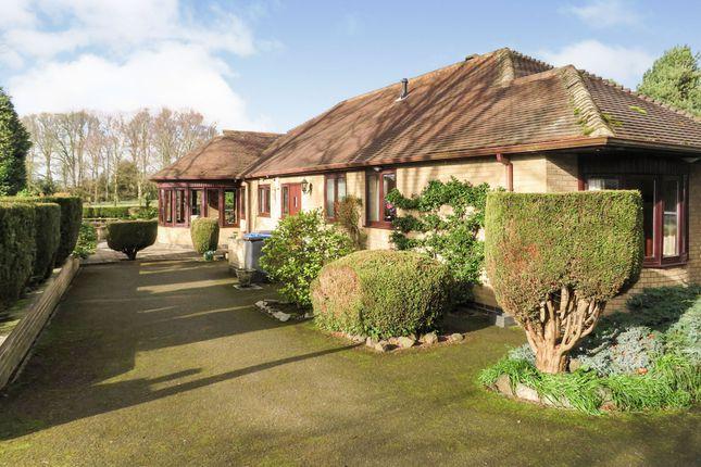 Thumbnail Detached bungalow for sale in Newbold Road, Barlestone, Nuneaton