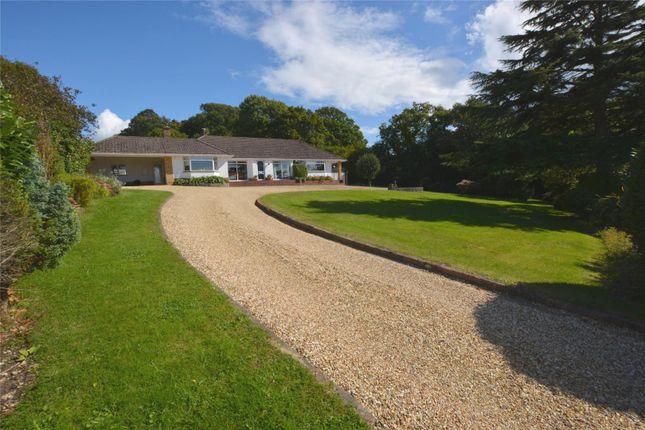 Thumbnail Detached bungalow for sale in Undershore Road, Lymington, Hampshire