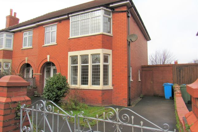 Thumbnail Semi-detached house to rent in Kenilworth Road, Lytham St. Annes