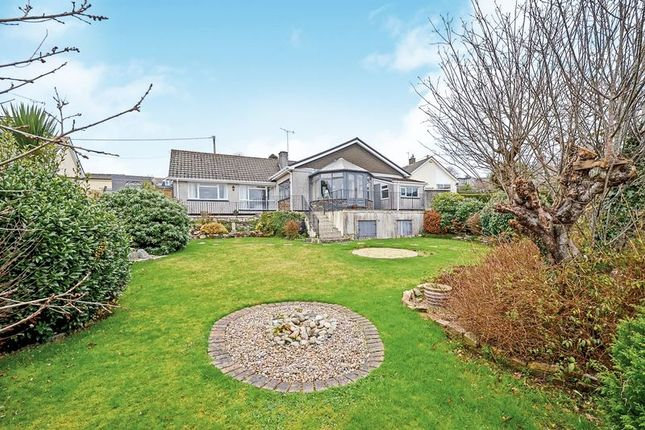 Thumbnail Detached bungalow for sale in Trevear Close, St. Austell