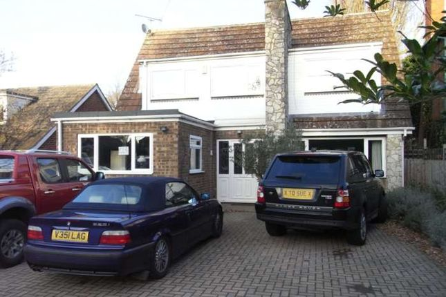 Thumbnail Detached house to rent in Reading Road, Winnersh, Wokingham