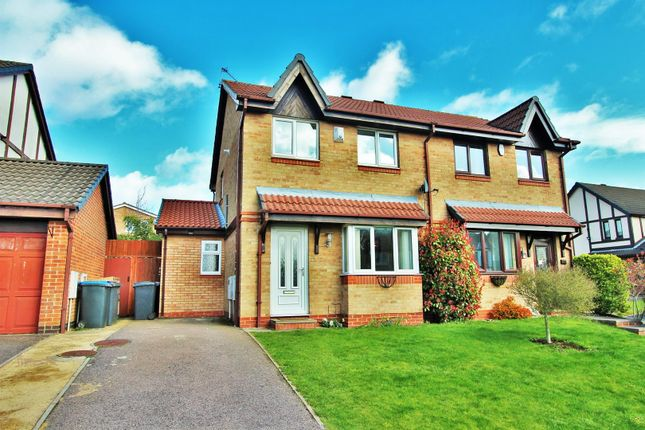 3 bed semi-detached house to rent in Laundon Close, Groby, Leicester LE6