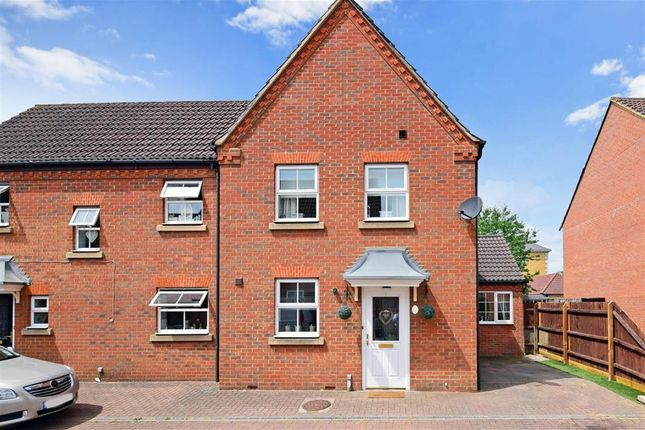 Thumbnail Semi-detached house for sale in Bradley Road, Waltham Abbey, Essex