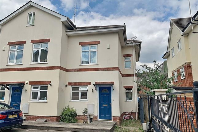 Thumbnail End terrace house for sale in Portchester Place, Bournemouth