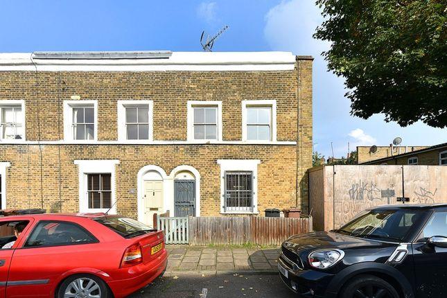 Thumbnail End terrace house for sale in Balcorne Street, London