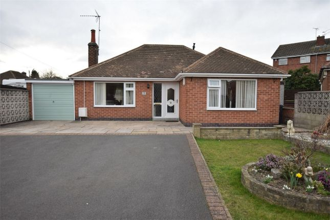 Thumbnail Detached bungalow for sale in Hayes Crescent, Swanwick, Alfreton, Derbyshire