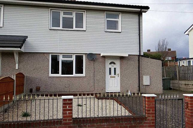 Thumbnail Semi-detached house to rent in Central Walk, Brimington, Chesterfield