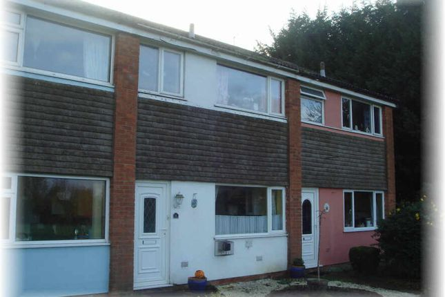 Thumbnail Terraced house to rent in North Close, Bacton, Stowmarket