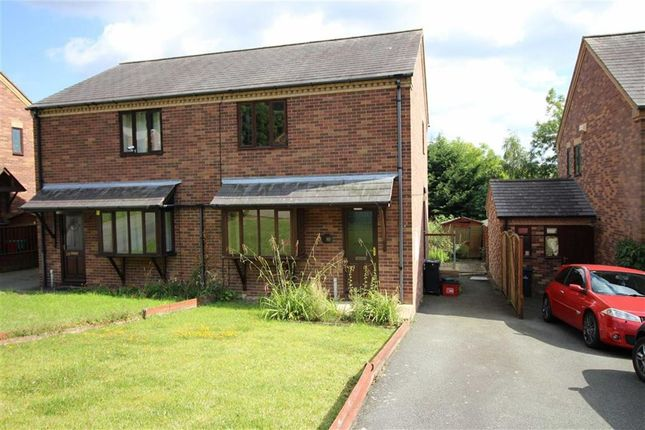 Thumbnail Semi-detached house to rent in 24, Chestnut Drive, Middletown, Welshpool, Powys