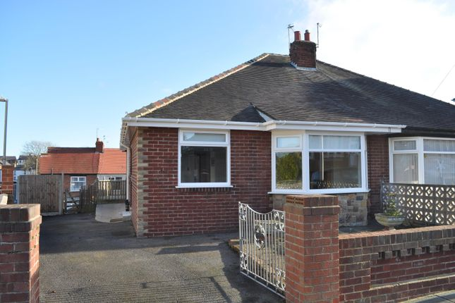 Thumbnail Semi-detached bungalow for sale in Ascot Road, Blackpool