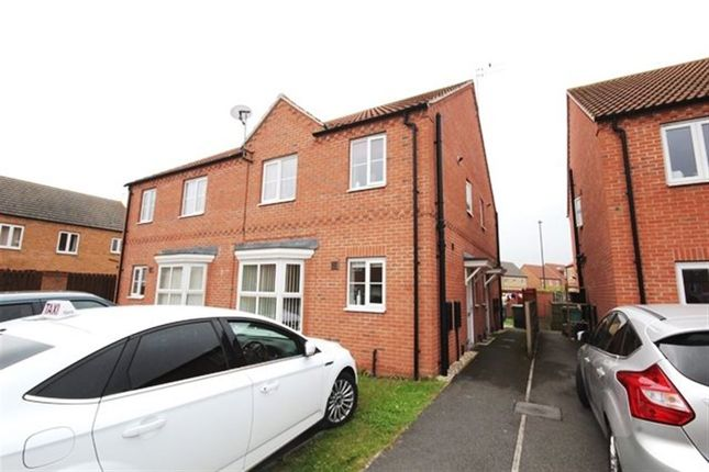 Thumbnail Semi-detached house to rent in Willow Gardens, Selby