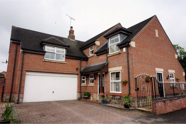 Thumbnail Detached house for sale in The Greendale, Alfreton