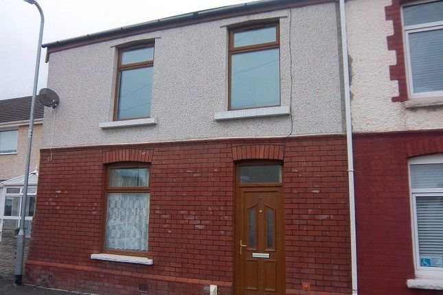 Thumbnail End terrace house to rent in Vivian Terrace, Port Talbot, Neath Port Talbot.
