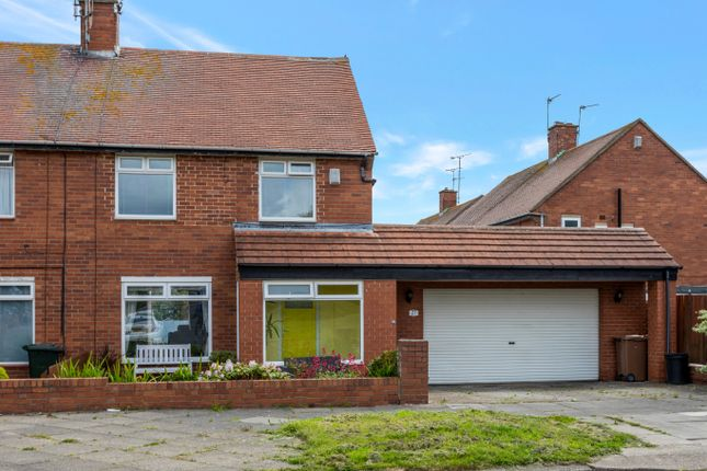 Thumbnail Semi-detached house for sale in Glenallen Gardens, North Shields