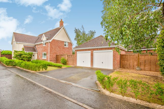 Thumbnail Detached house for sale in Bunwell, Norfolk