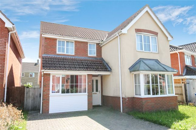 Thumbnail Detached house to rent in Bladewater Road, Threescore, Norwich, Norwich